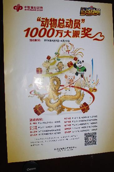 """湖南动物总动员技巧_福彩""""动物总动员""""1000万元派奖即将启动-尚一网-网天下"""