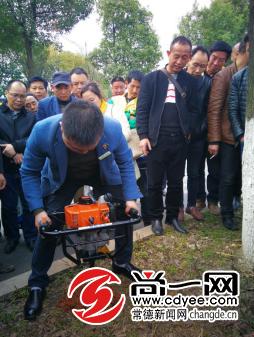 常德230人参加园林绿化养护管理技术培训